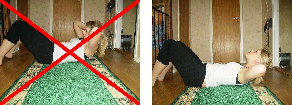 träna bort magen hemma